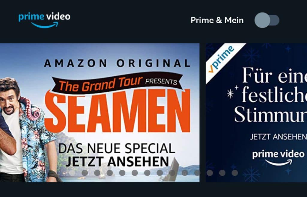 """Amazon Prime Video führt """"Prime & Mein"""" ein"""