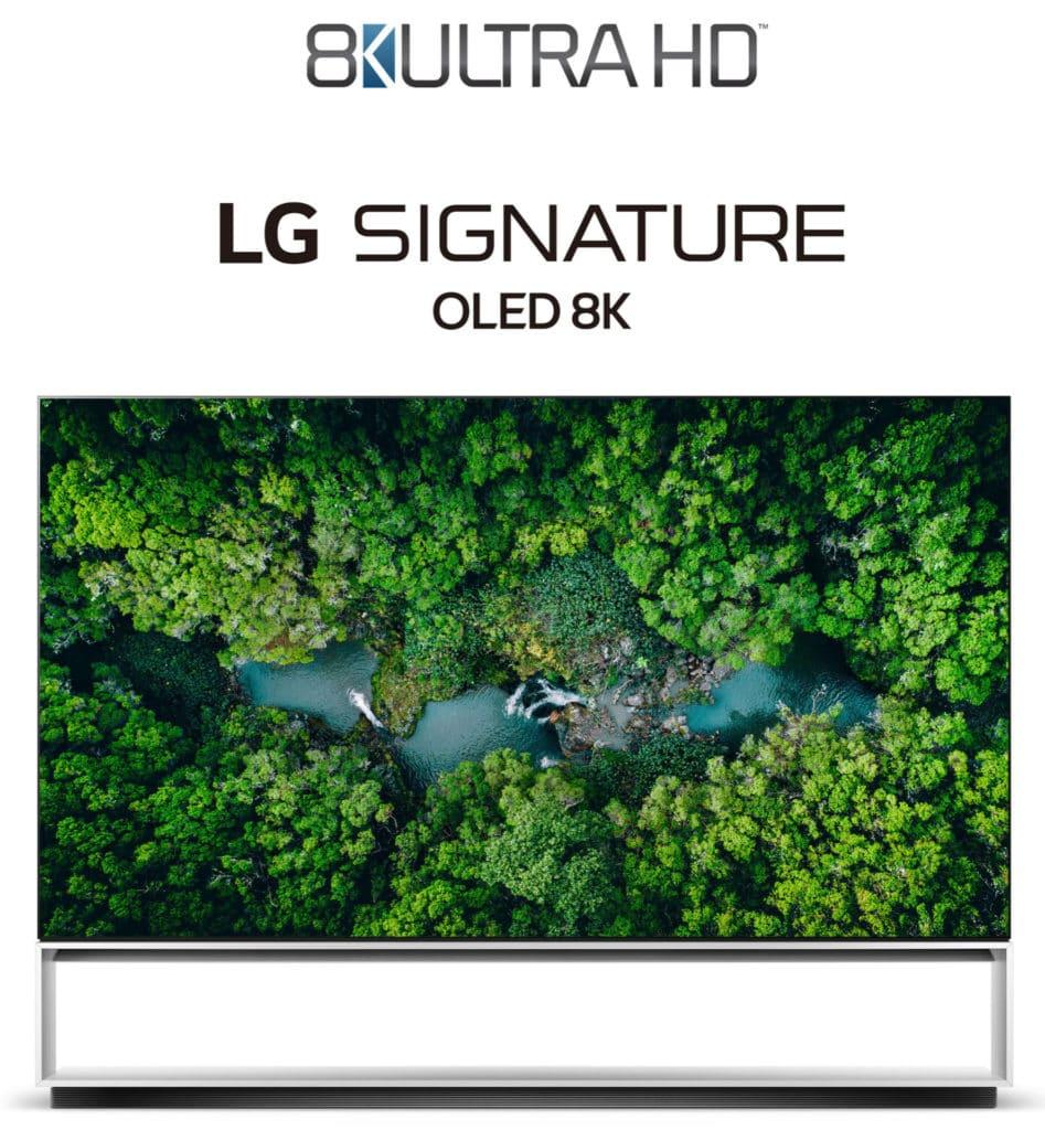 LG 8K mit CTA