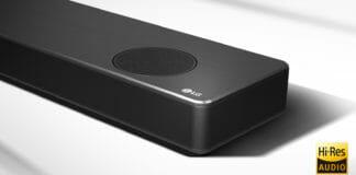 LG bewirbt seine neuen Soundbars mit Hi-Res Audio