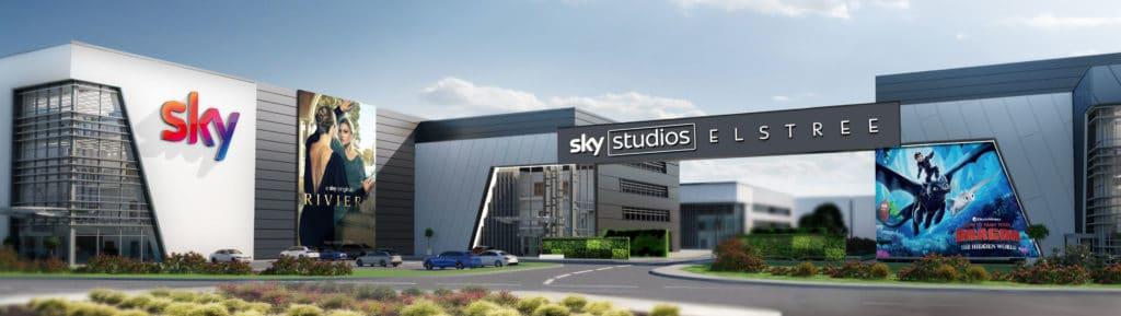 Der hochmoderne Komplex der Sky Studios Elstree soll 2022 fertiggestellt werden