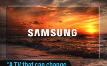 "Samsung registriert ""A TV that can change, changes everything"""