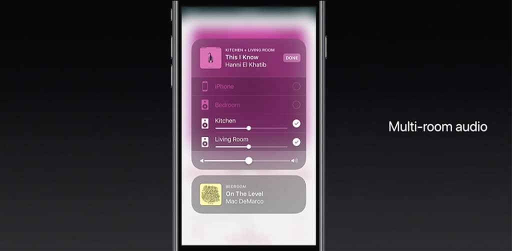 Mit AirPlay 2 unterstützt Apples Technologie erstmals Multiroom-Streaming