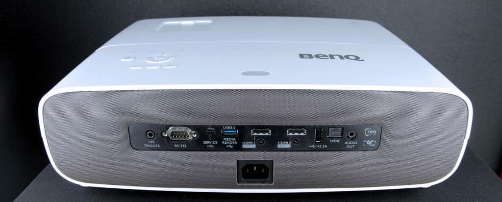 Anschlüsse W2700 BenQ