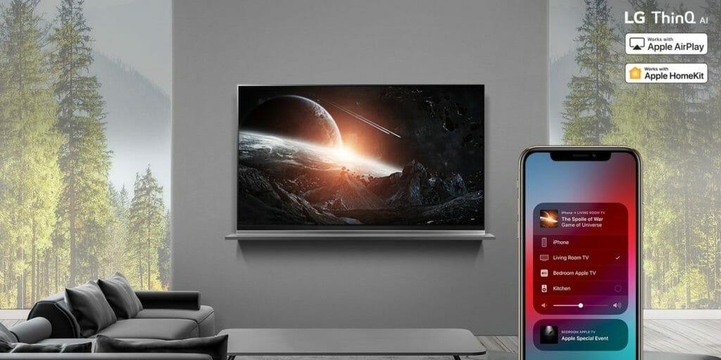 Ausgewählte Premium UHD & OLED TVs von LG unterstützen bereits AirPlay 2