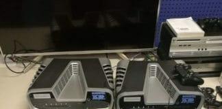Zwei Playstation 5 Entwicklerkonsolen (Development Kits)