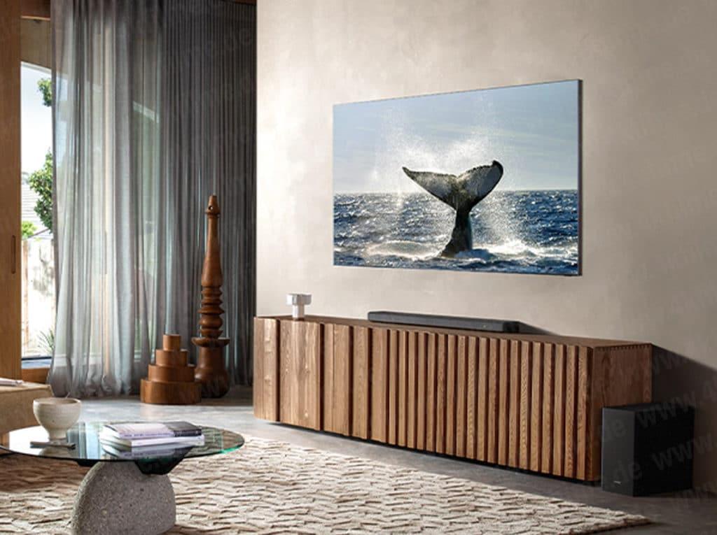 Q800T Soundbar Samsung 8K QLED 2020 Rahmenlos