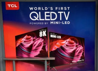 Erste Abbildung des TCL MINI-LED QLED und 8K QLED