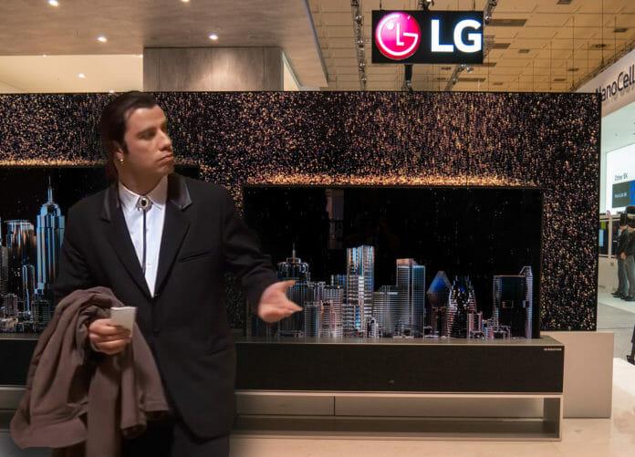 Na wo bleibt denn LGs aufrollbarer OLED TV?