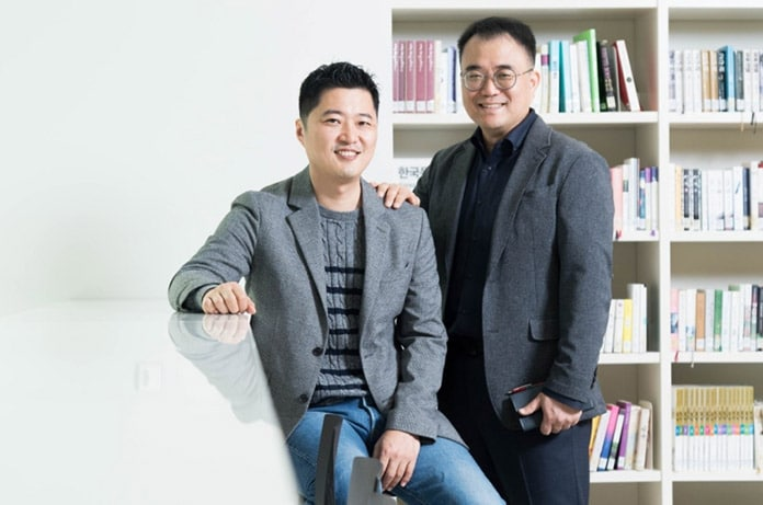 Youngo Park und Kangpyo Choi vom Samsung Research Visual Technology Team