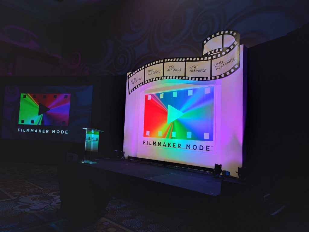 Filmmaker Mode UHD Alliance
