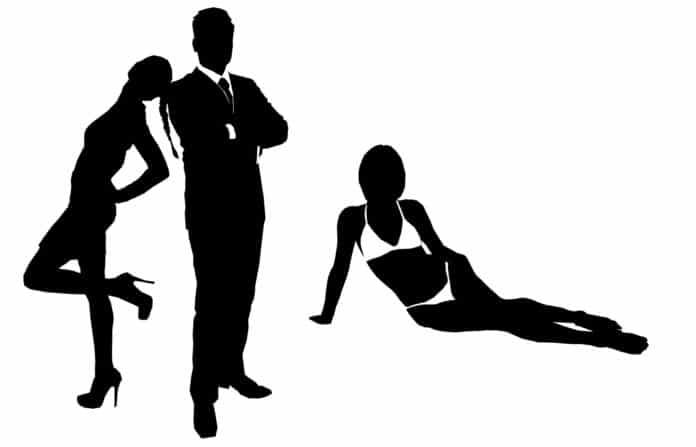 James Bond mit Frauen