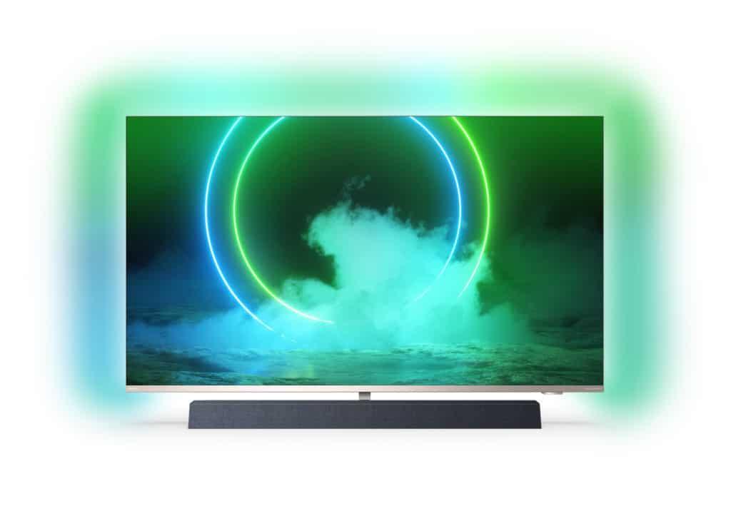 PUS9435 4K LCD TV mit 3-seitigem Ambilight und Bower & Wilkins Sound