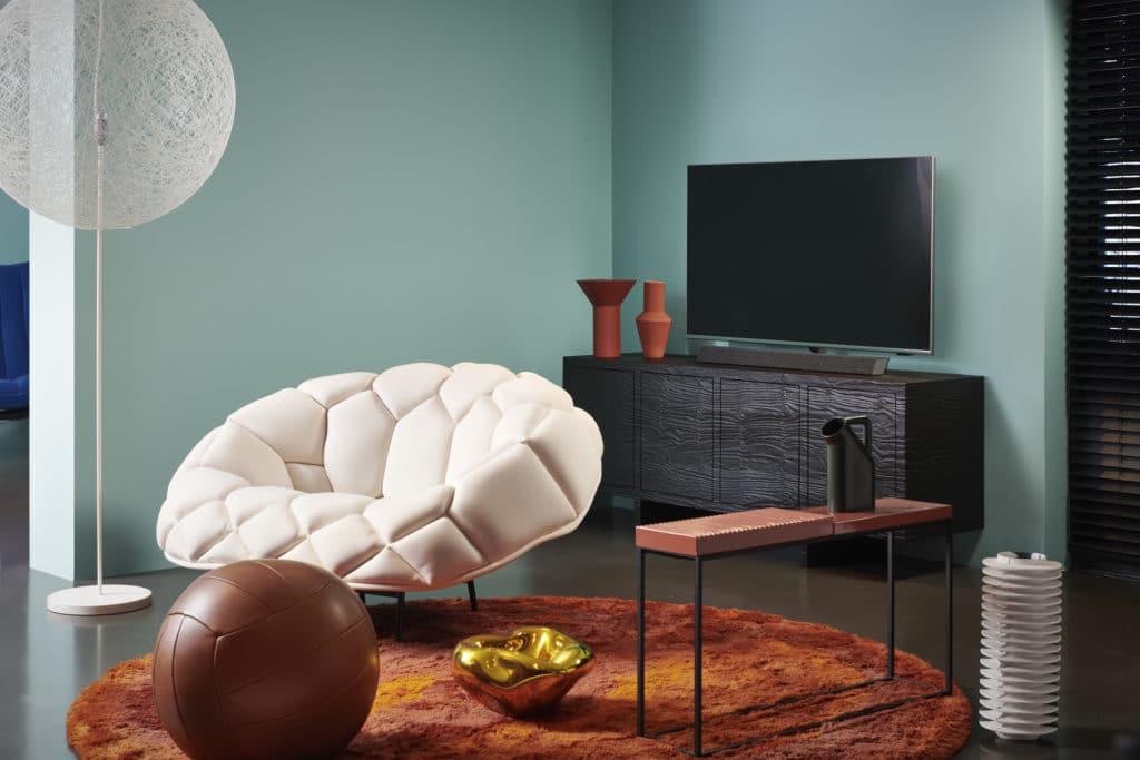 Macht auf jeden Fall etwas her: Der PUS9435 4K LCD TV mit Direkt-LED-Backlight