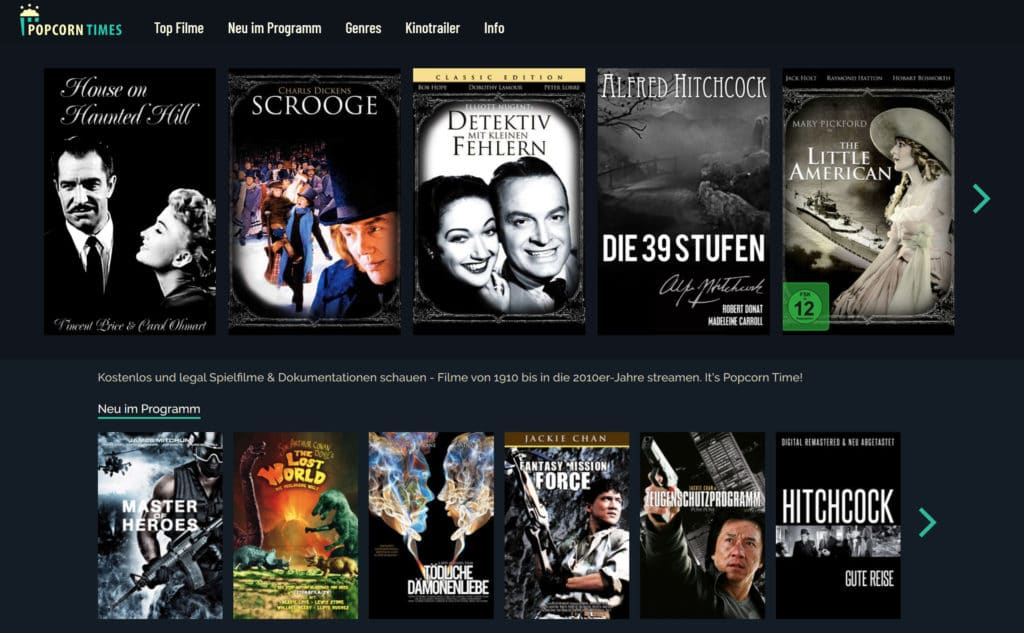 Popcorntimes Screenshot