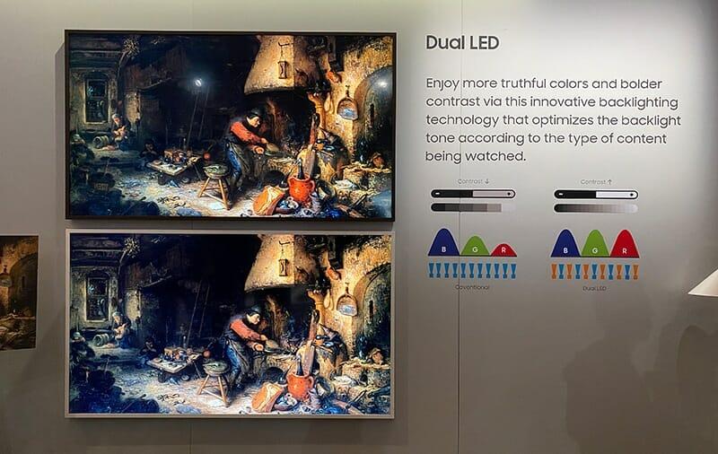 Samsung Q60TS Q70TS Dual LED