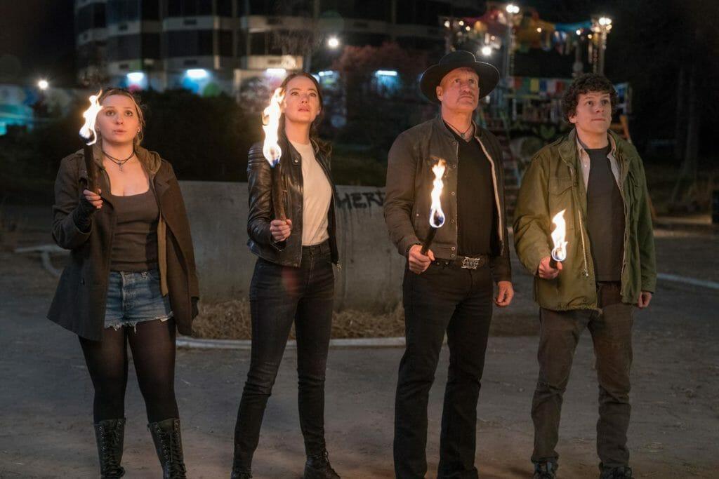 Zombieland 2 mit dem Original-Cast von 2009: Abigail Breslin, Emma Stone, Woody Harrelson und Jesse Eisenberg