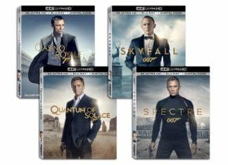 """Die James Bond Filme mit Daniel Craig erscheinen als """"Single"""" 4K Blu-rays inkl. Steelbook-Varianten    Bild: 20th Century Fox / MGM"""