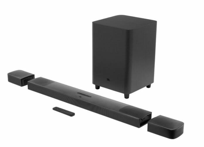 Lautstark und flexibel einsetzbar: JBLs Dolby Atmos 9.1 Soundbar