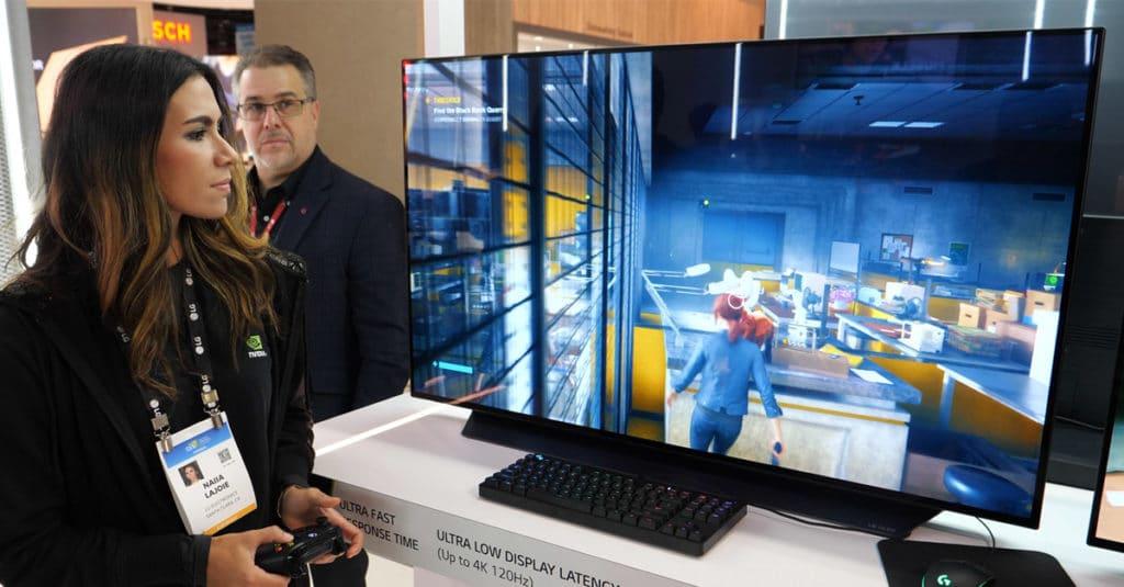In der chinesischen Produktionsstätte sollen OLED-Panels, unter anderem wie dieses 48 Zoll Modell (CX) entstehen