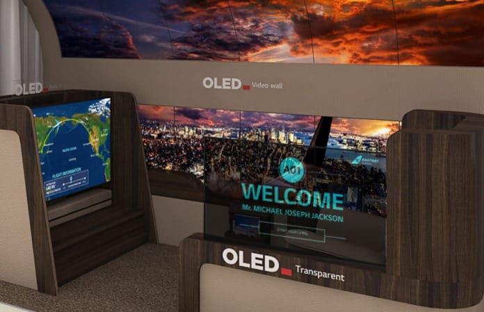 LG Display OLED Prototypen