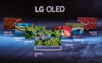 Das komplette OLED Lineup 2020 von LG (BX, CX, GX, WX, ZX, RX)