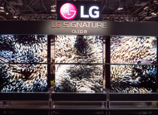 LG RX Rollable 4K OLED