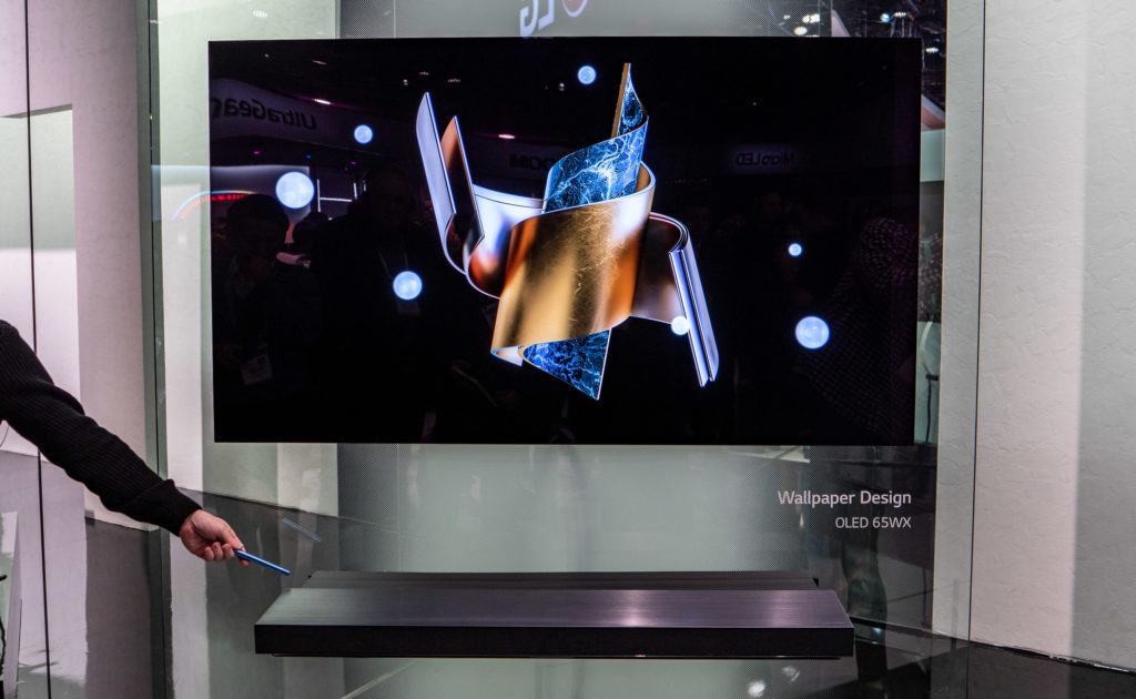 LG WX 4K OLED Wallpaper 2020