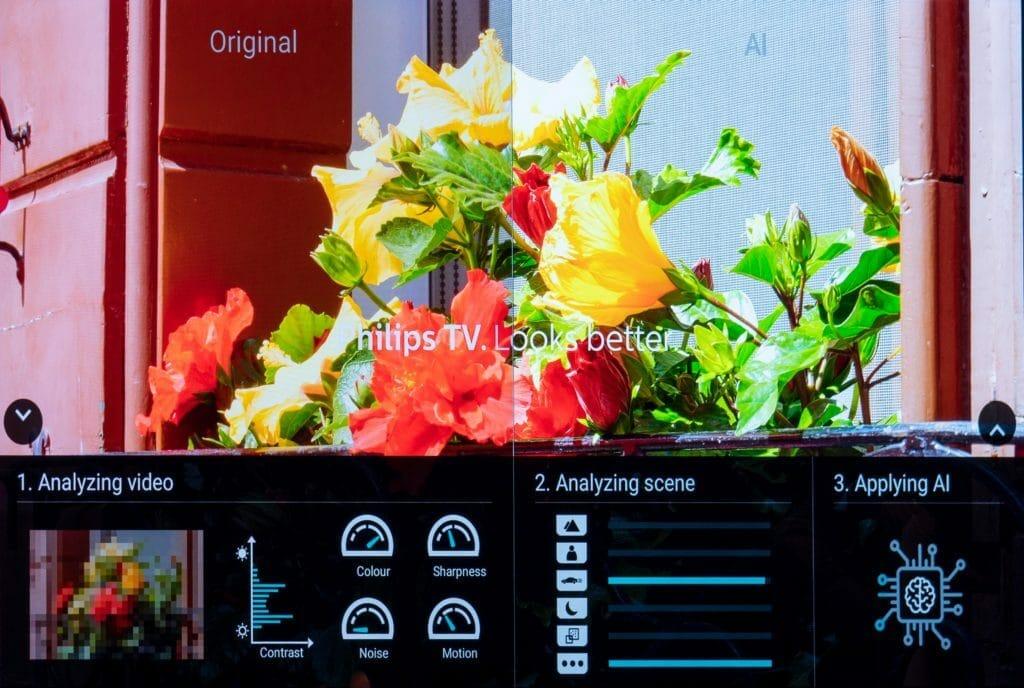 Philips P5 AI Demo Modus