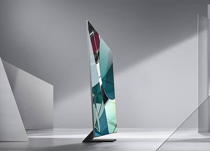 Das ist der neue Q950TS 8K QLED TV mit Infinity Design