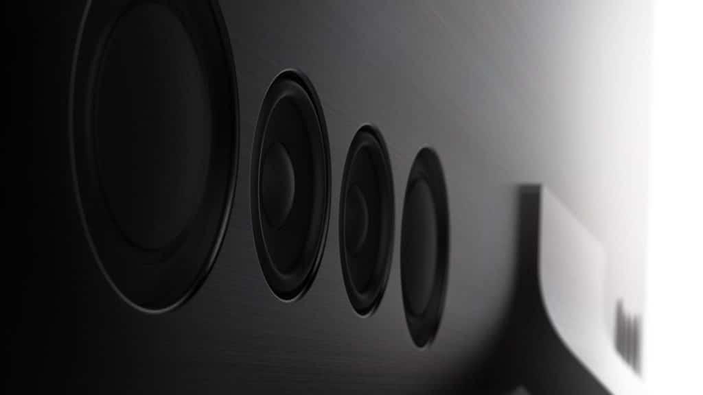 Q950TS Rückseite Lautsprecher