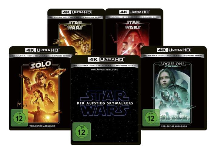 Alle Star Wars Filme können auf 4K Blu-ray vorbestellt werden