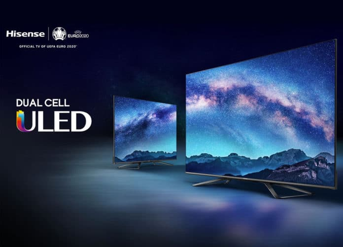 U9X Dual Cell 4K TV Hisense