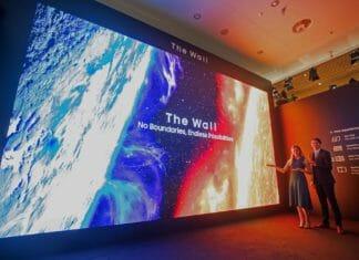 Die 292 Zoll Version von Samsungs The Wall auf der ISE 2020