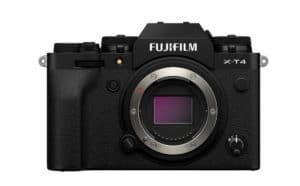 Der Body der Fujifilm X-T4