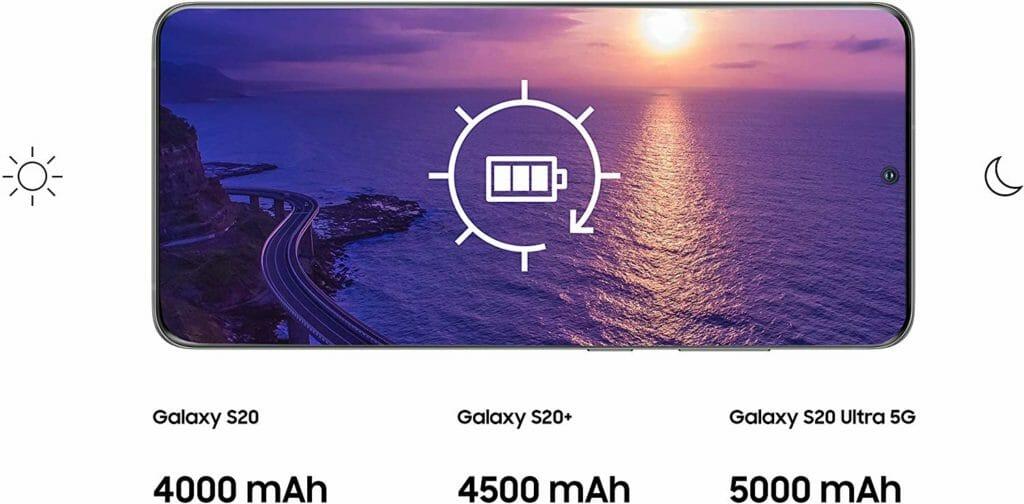 Samsung Galaxy S20 Akkus