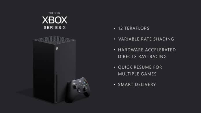 Die Microsoft Xbox Series X bietet 12 TFLOPS