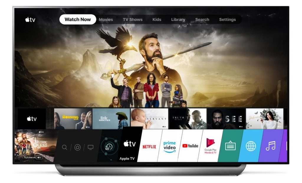 Apple TV App LG OLED C9