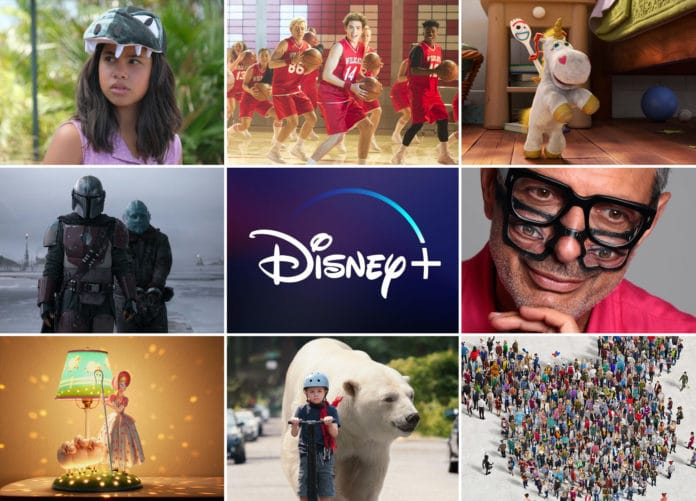 Disney Plus startet mit unzähligen Eigenproduktionen am 24. März 2020
