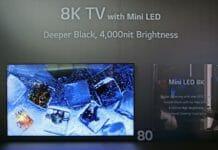 Prototypen wie dieser 8K Mini LED TV könnten bald in den Handel gelangen