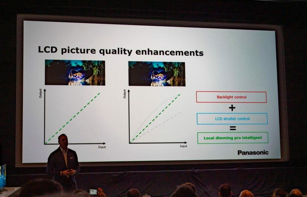 Das Local Dimming Pro Intelligent Feature soll den Schwarzwert und Kontrast der HXW944 Serie verbessern