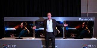 Michael Langbehn, Head of PR bei Panasonic Deutschland vor dem neuen OLED-Lineup 2020