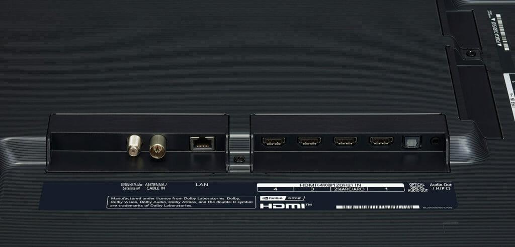 Die Schnittstellen des LG GX 77