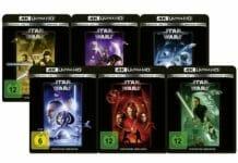 Fox veröffentlicht neue Details zu den Star Wars Filmen auf 4K Blu-ray (Episode 1-6)