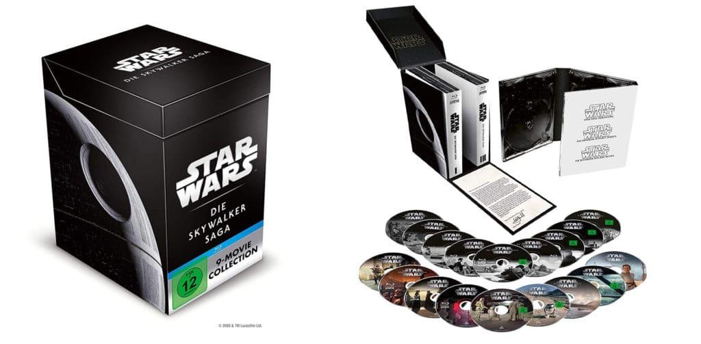 Unboxed: Selbst die HD Blu-ray Variante der Star Wars - The Skywalker Saga ist aufwendig gestaltet