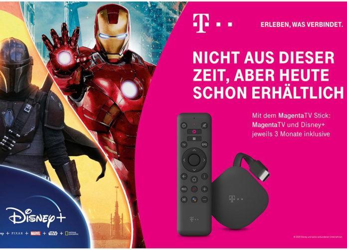 MagentaTV Stick ordern und 3 Monate Disney+ gratis erhalten