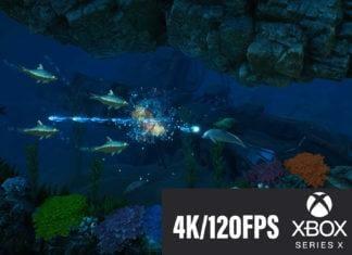 Das erste 4K 120fps Game für die Xbox Series X ist ein 2D Plattformer mit einem Laserschießenden Delphin