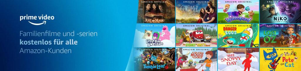 Amazon Prime Video Gratis Familien Kinder
