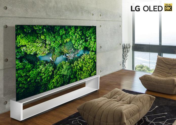 LG bewirbt seine TVs weiterhin als