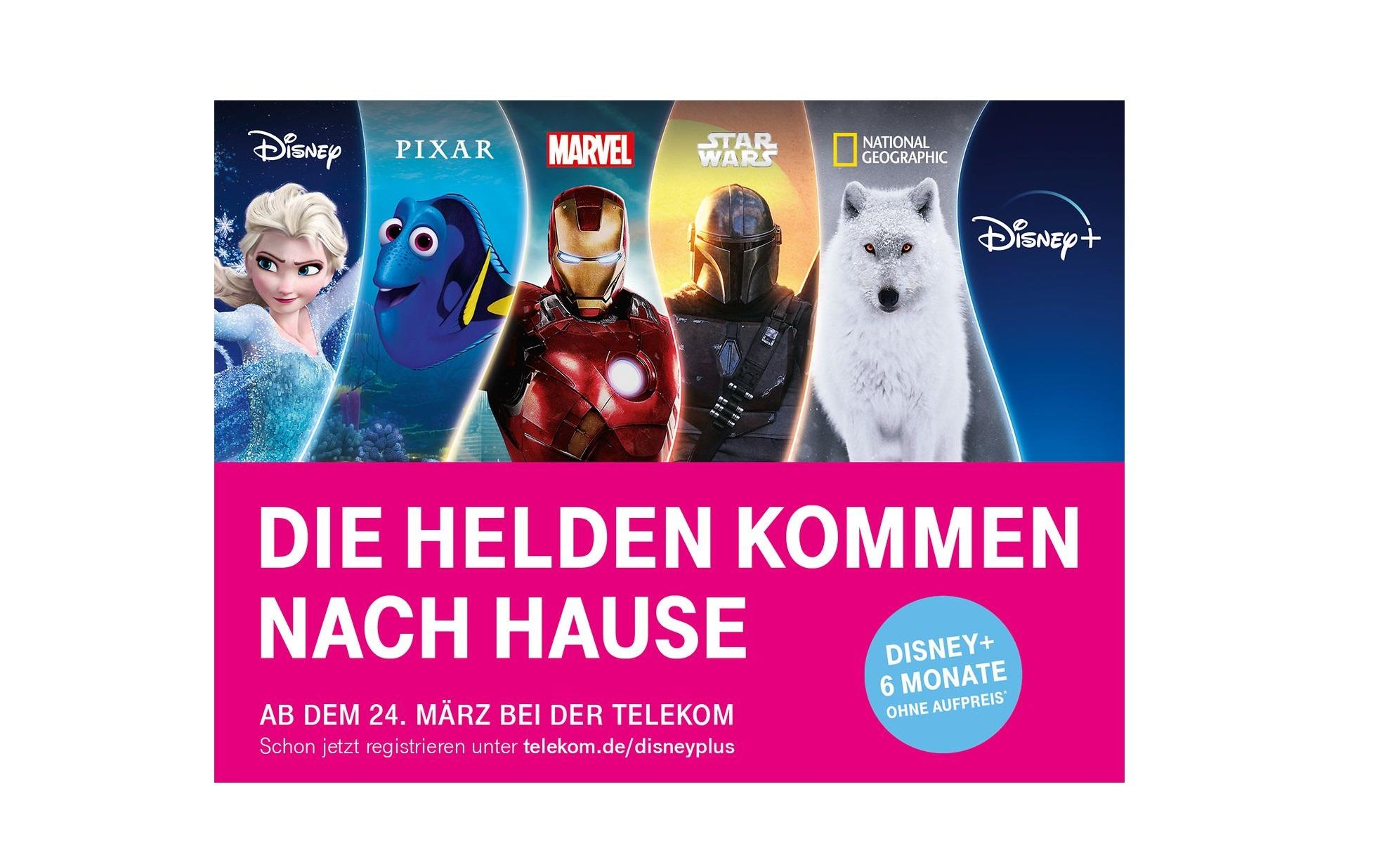 Disney Plus 6 Monate Gratis