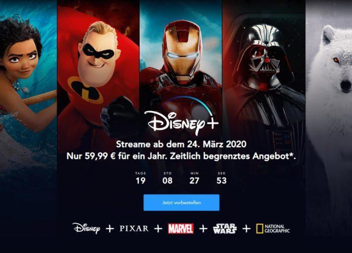 Disney Plus günstig vorbestellen